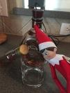 Gerald takin a drink
