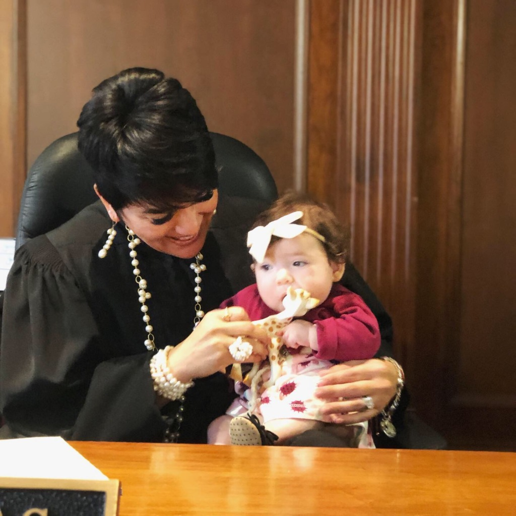 Judge Salinas with Amelia